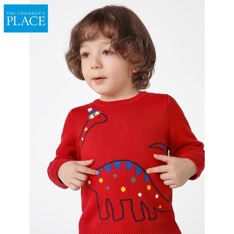 美国  The Children's Place 全棉 中小童加厚保暖毛衣针织衫 天猫优惠券折后¥69包邮(¥189-120)2~5T码3色可选