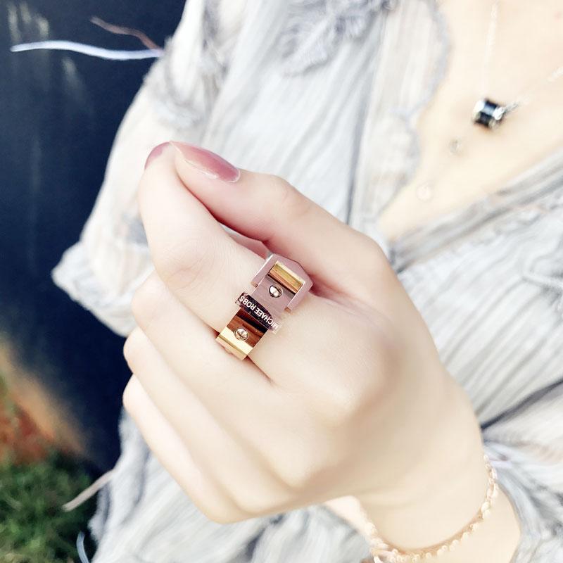 日韩简约韩国潮人学生时尚个性指环