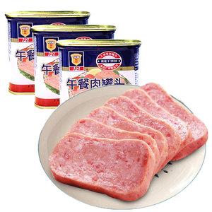 中华老字号 上海梅林 午餐肉罐头 340g*4罐 主图