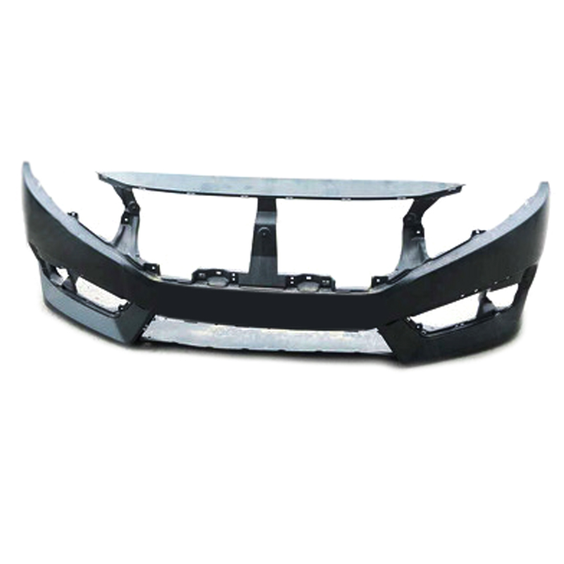car front bumper front body kit replacement no paint for honda civic 10th 2016 ebay. Black Bedroom Furniture Sets. Home Design Ideas