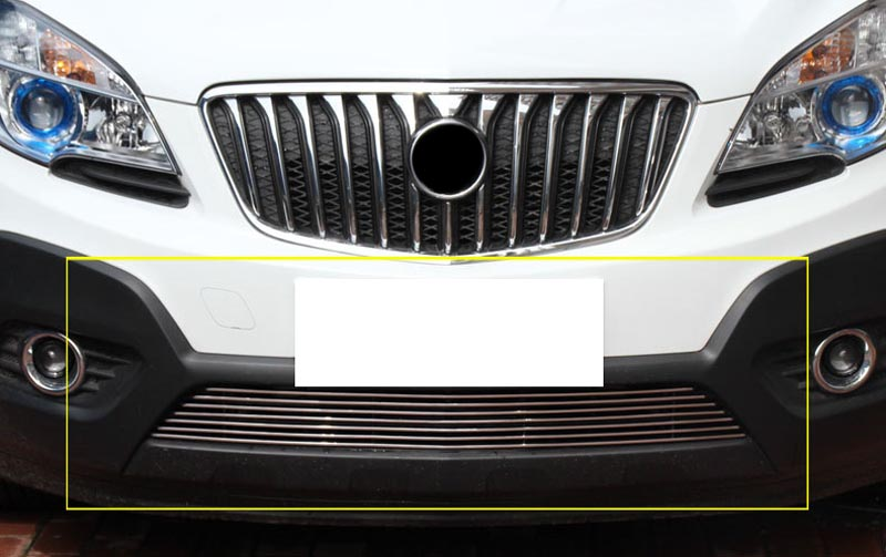 For Buick Encore 2012 2016 Front Bumper Grill Lower Grille