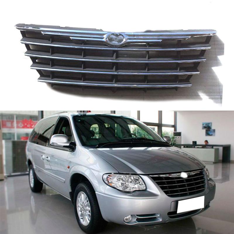 For Chrysler Grand Voyager 2007-2010 Car Front Grille Mesh