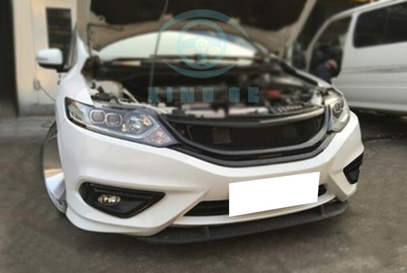 1 piece Matte black resin front Grille modified replace for Honda Jade 2014 | eBay