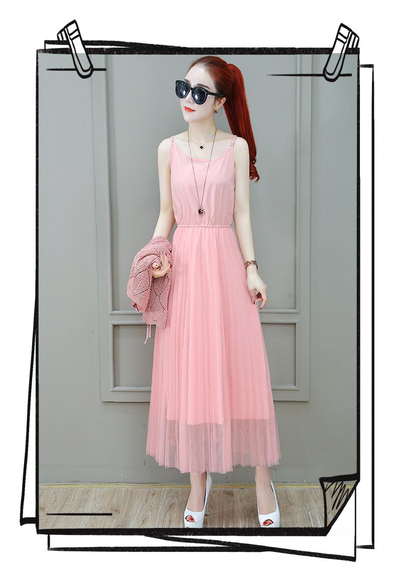 Women Suits Casual Clothing Sets Crop Top Fold Tulle dress Blouse 2 Piece Dress Sets Summer Dress Suit Twin Sets Plus Size 8