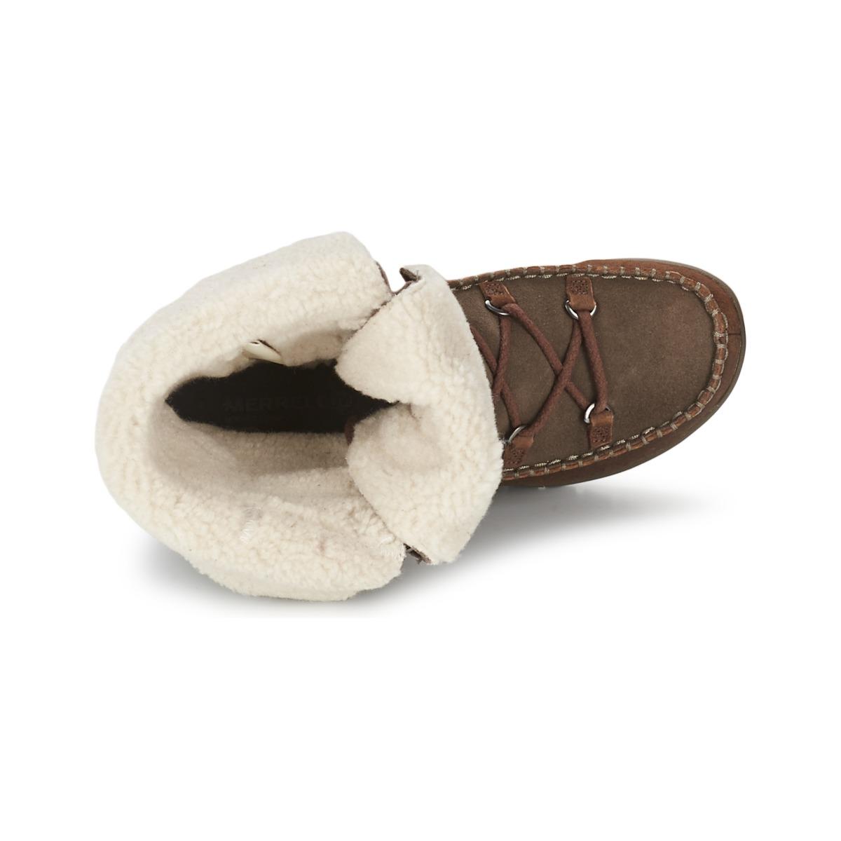 обувь MERRELL j69232 EMERY LACE LTR HIGH MERRELL / Mele