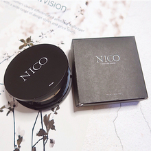 Nico powder, makeup, dry powder, durable concealer, waterproof and oil control, good night powder.