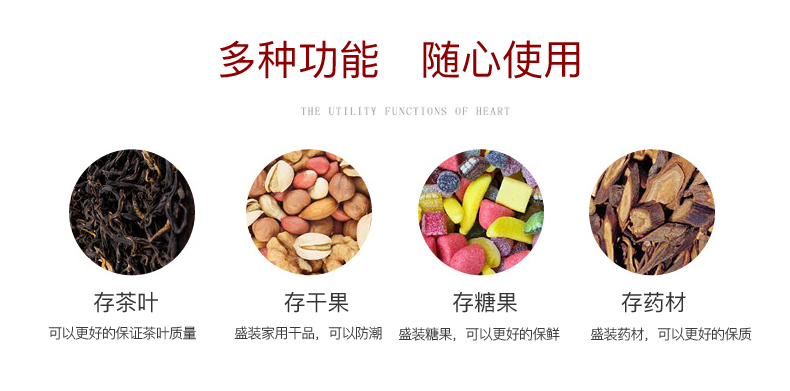 Shadow at up ceramic tea storage tanks of household caddy fixings Chinese style restoring ancient ways caddy fixings storage tank sealing LLW