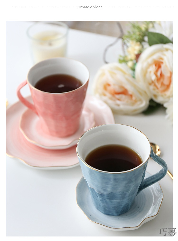 For color opportunely up phnom penh irregular series ceramic keller cup men and women milk cup cup coffee cups