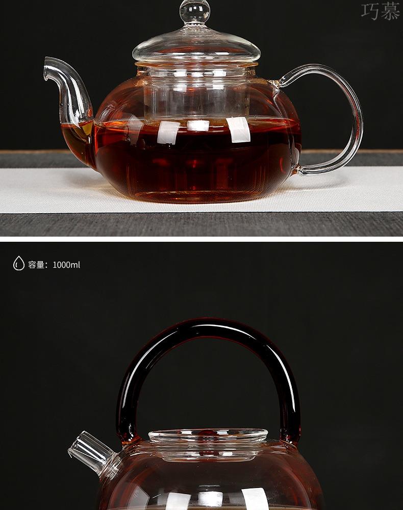 For electricity TaoLu tea stove household electric boiling tea stove ceramic glass steaming pot of tea, tea tea in boiling water furnace