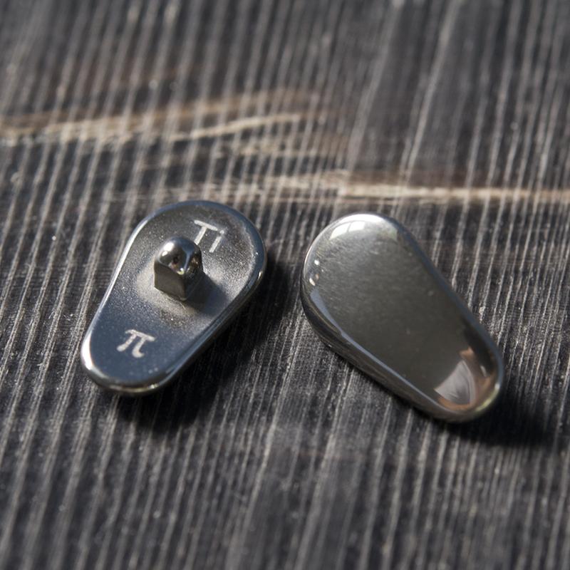 Hypoallergenic tinh khiết titan miếng đệm mũi kính phụ kiện miếng đệm mũi silicone miếng đệm mũi chống trượt Nhật Bản miếng đệm kim loại - Kính râm