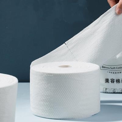 一次性加厚珍珠纹纯棉洁面巾洗脸巾
