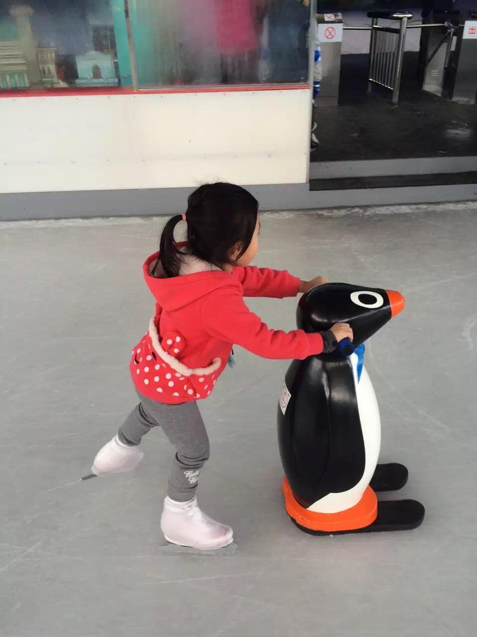 [冰场] для [助滑器 ] высокая [分子PV企鹅助滑器 ] детские [初学者] для [滑冰助滑器]