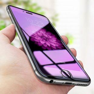 苹果7plus钢化膜iphone6手机贴膜i6/6s/7/8/plus抗蓝光玻璃6p/7p/8p水凝六高清七防爆防指纹八保护手机膜