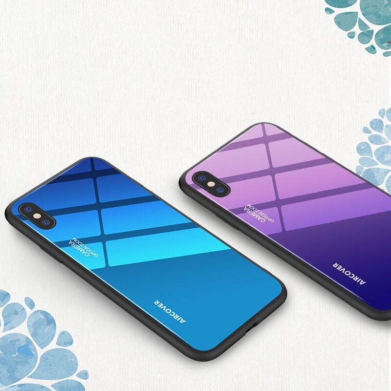 全品牌炫光玻璃手机壳