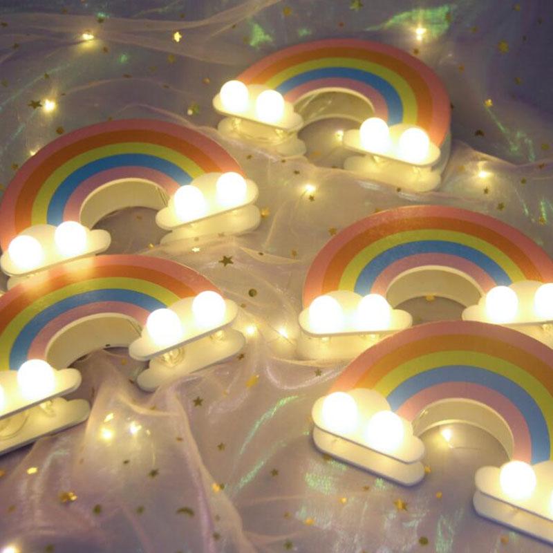 盈浩 创意礼品闺蜜生日礼物订婚网红日式客厅发光彩虹抖音神器
