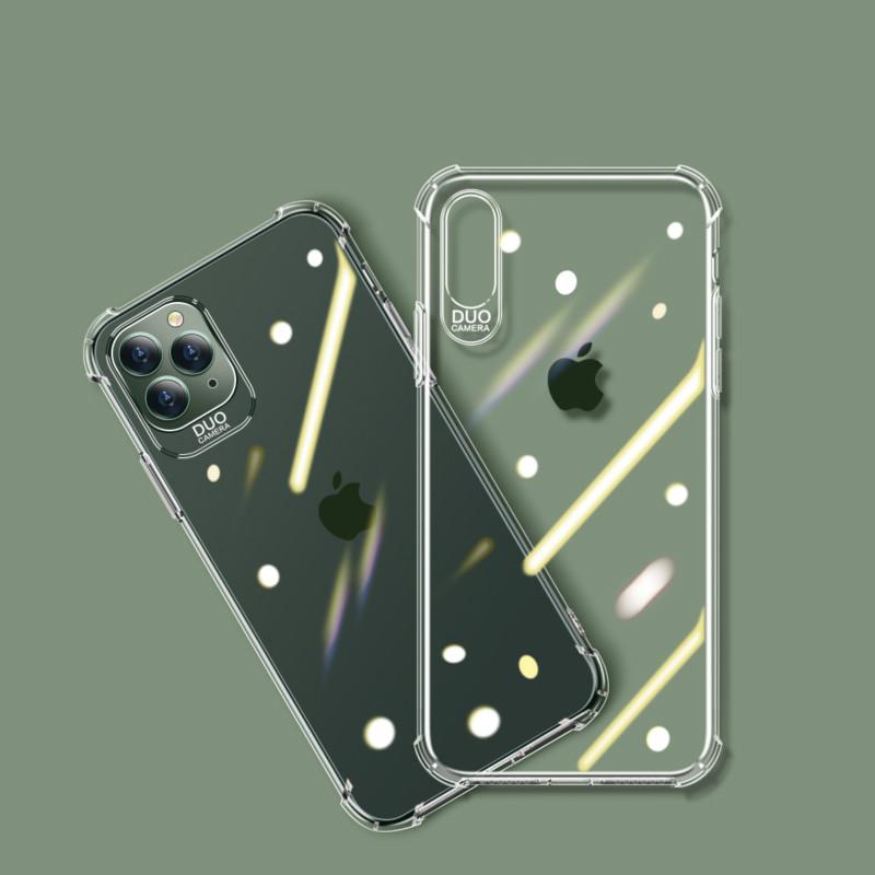苹果全系列透明防摔手机软壳