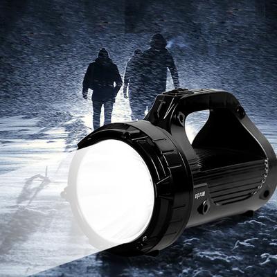 【久量】LED强光探照灯可充电手电筒