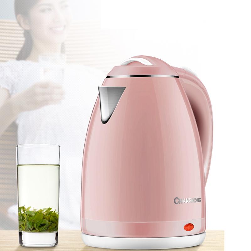【第一名】【长虹】家用自动断电保温电热水壶1.8L