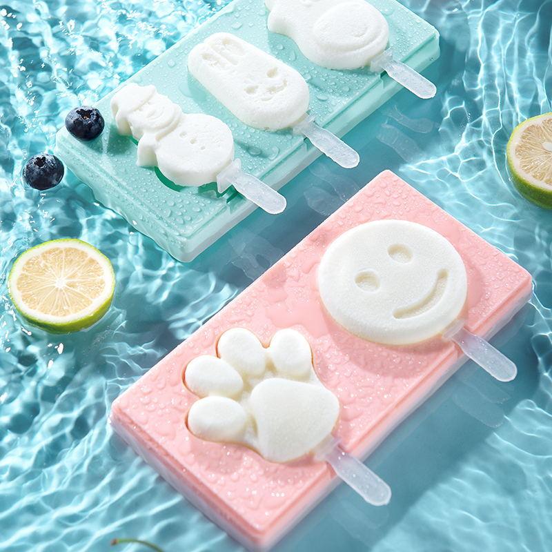 【福利价】硅胶自制雪糕模具2图装