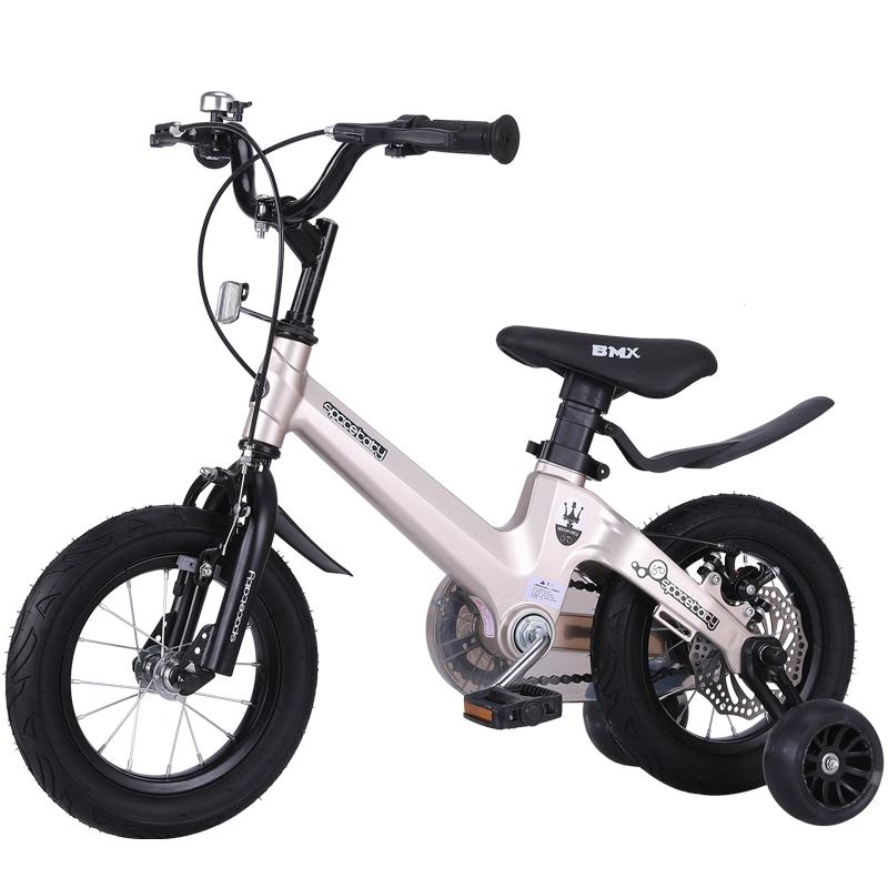 儿童自行车2-3-6-7-8-9-10岁男孩女宝宝脚踏单车小孩女童 公主款_领取30元淘宝优惠券