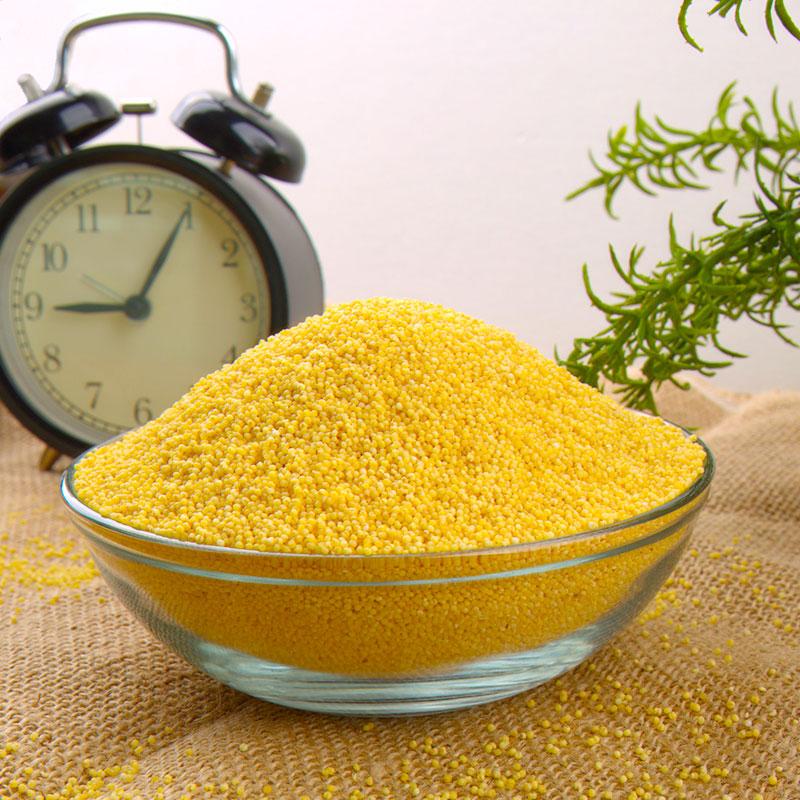 新疆特产 小黄米500gx3袋黄小米月子米宝宝米 农家新米杂粮小米粥-给呗网