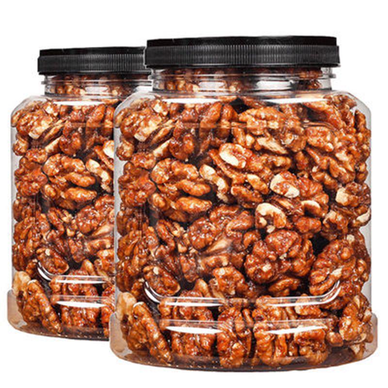 新货琥珀核桃仁含罐1000g蜂蜜核桃仁坚果干果仁休闲零食礼包250g