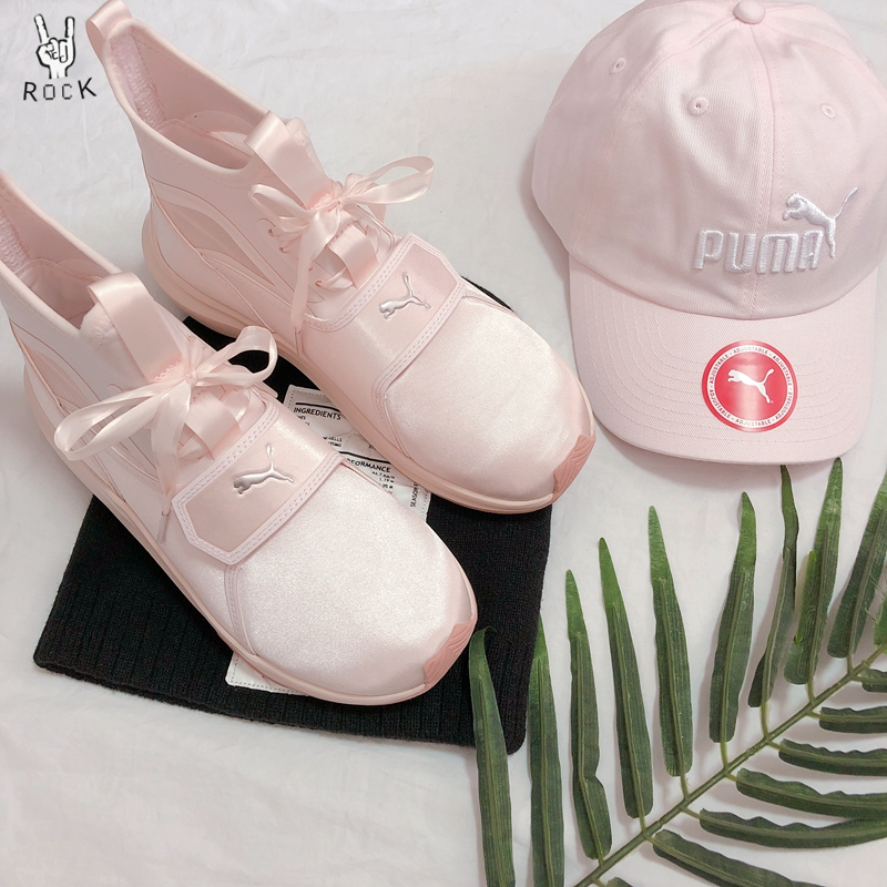 6704cccffd293d Puma Phenom SATIN EP silly face light fan belt ballet women s sneakers  190519-02