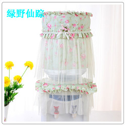 Pastoral lace drinking fountain cover fabric drinking fountain cover two-piece bucket cover dust cover cover cloth modern and simple
