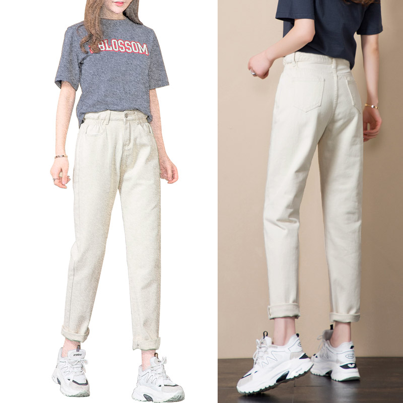 APRICOT TROUSERS (SPRING AND AUTUMN)
