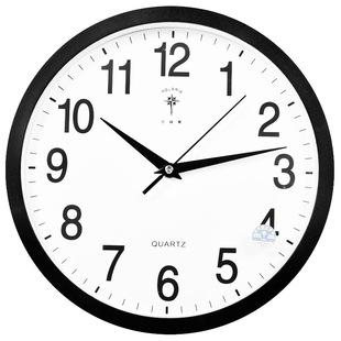 北極星12英寸靜音居家客廳掛鐘