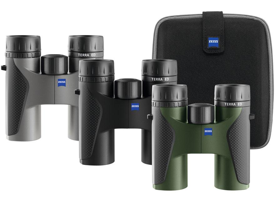 Zeiss蔡司望远镜陆地 TERRA ED 8x32 新款ED镜片 充氮防水