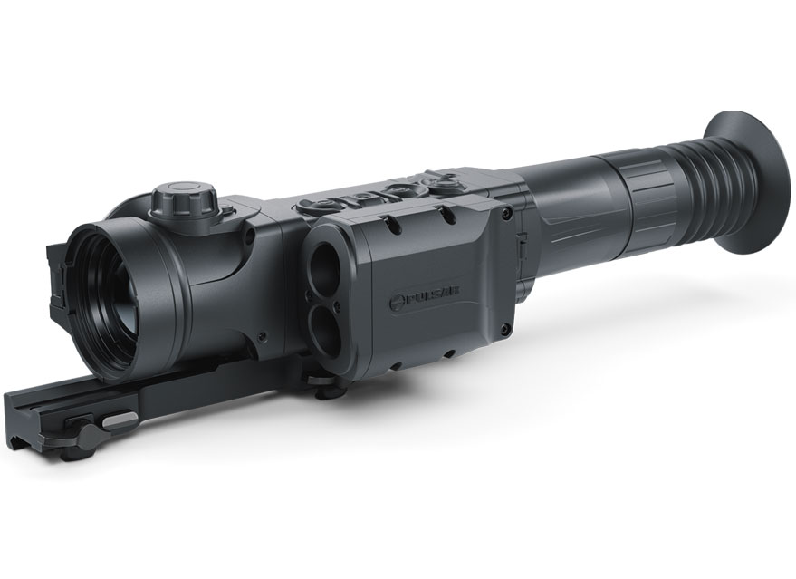 PULSAR脉冲星TRAIL 2 LRF XQ50测距版二代热成像瞄准镜