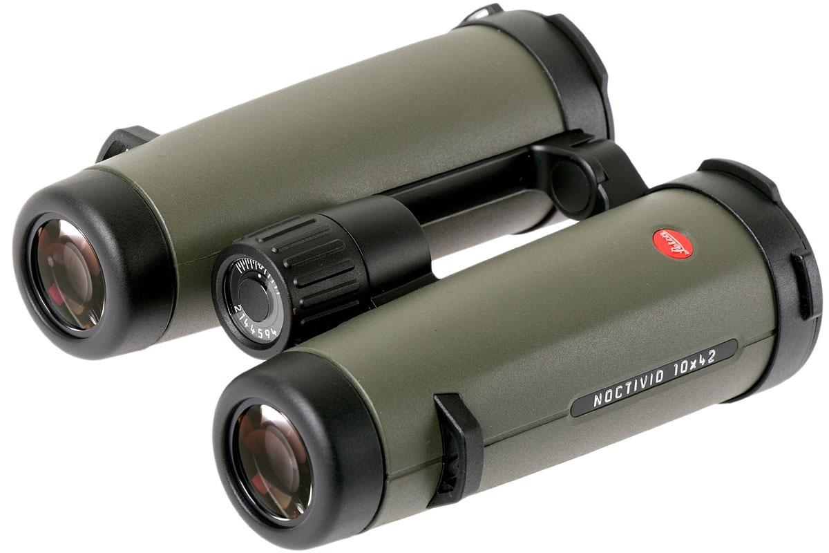 德国Leica 徕卡双筒望远镜 Noctivid 10×42 40387 橄榄绿