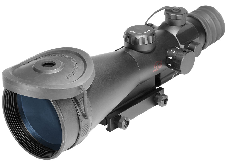 原装进口美国 ATN ARES 6-3 战神系列 三代夜视狙击瞄准镜