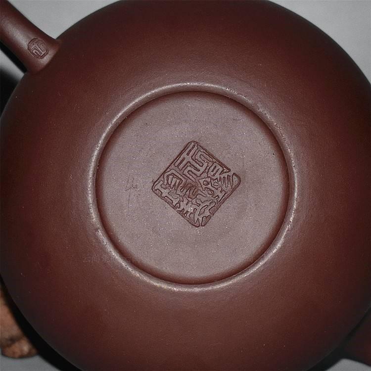 The kitchen yixing it pure checking antique purple clay teapot kunfu tea pot set household ceramic tea set