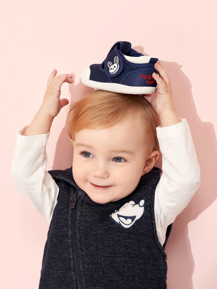 英氏萌兔网鞋,助宝宝稳健迈出每一步