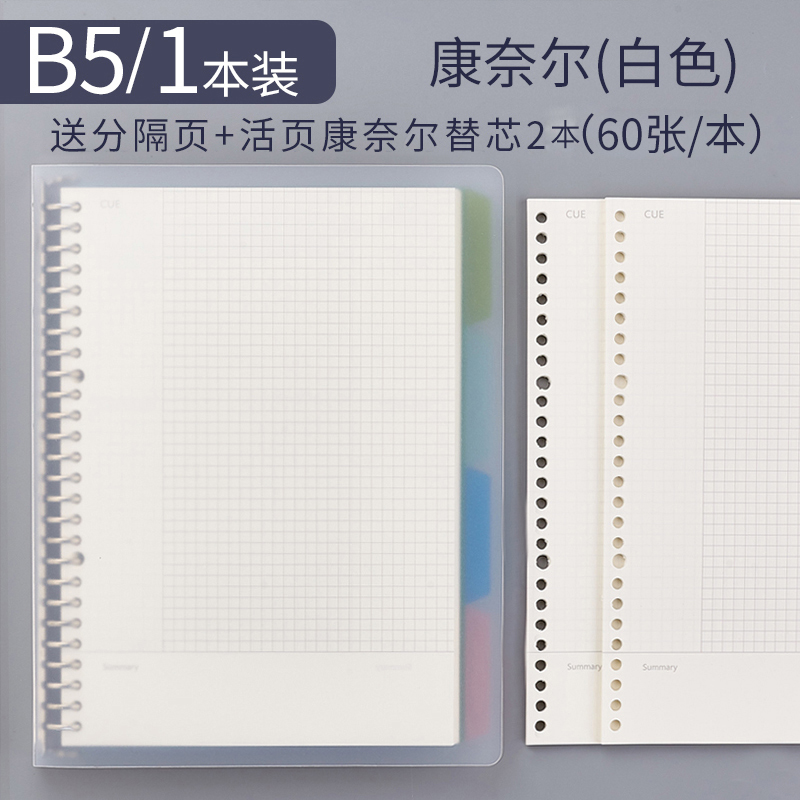 B5 High Efficiency 1 (send 4 Separator Pages) + 2 Refills