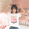Short-sleeved T-shirt female 2018 new white student loose Korean summer cotton half-sleeve versatile shirt ulzzang tide