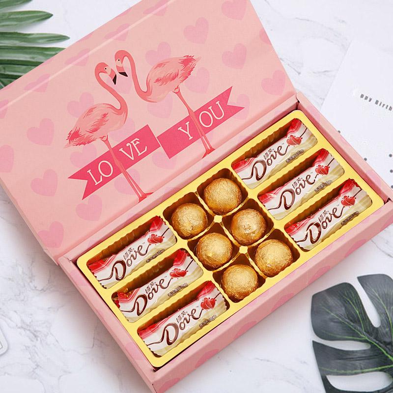 七夕情人节礼物送女友女生老婆朋友浪漫惊喜实用创意7夕生日礼盒