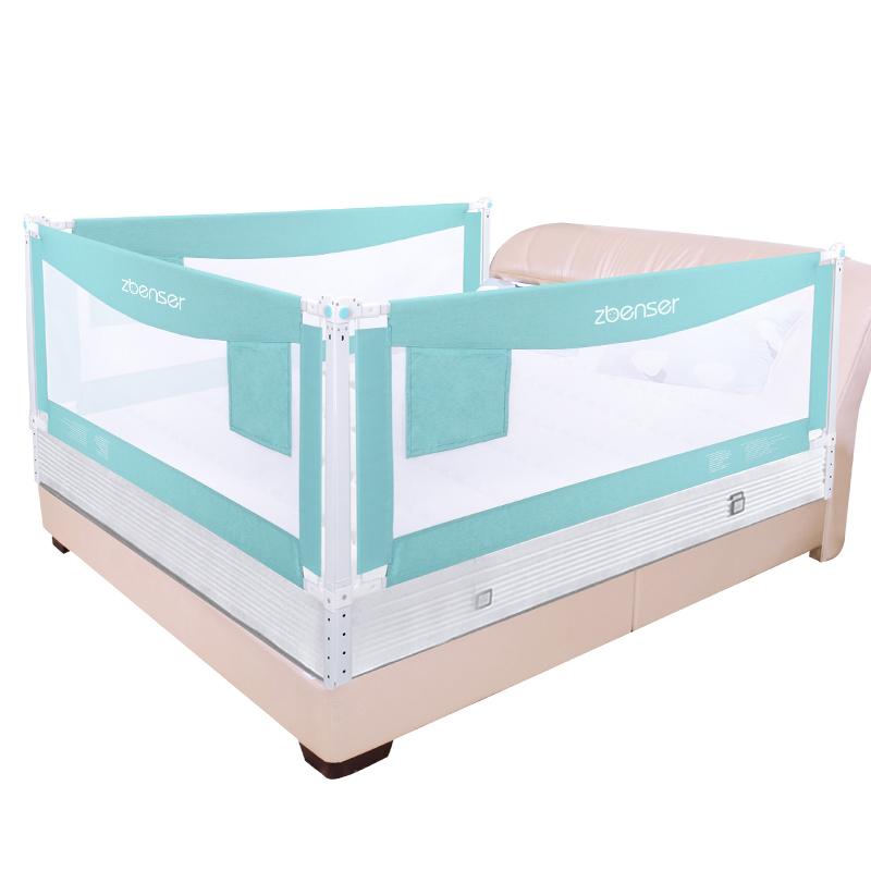 知本色升降款床围栏宝宝安全防摔防护栏儿童大床1.8-2米床边护栏