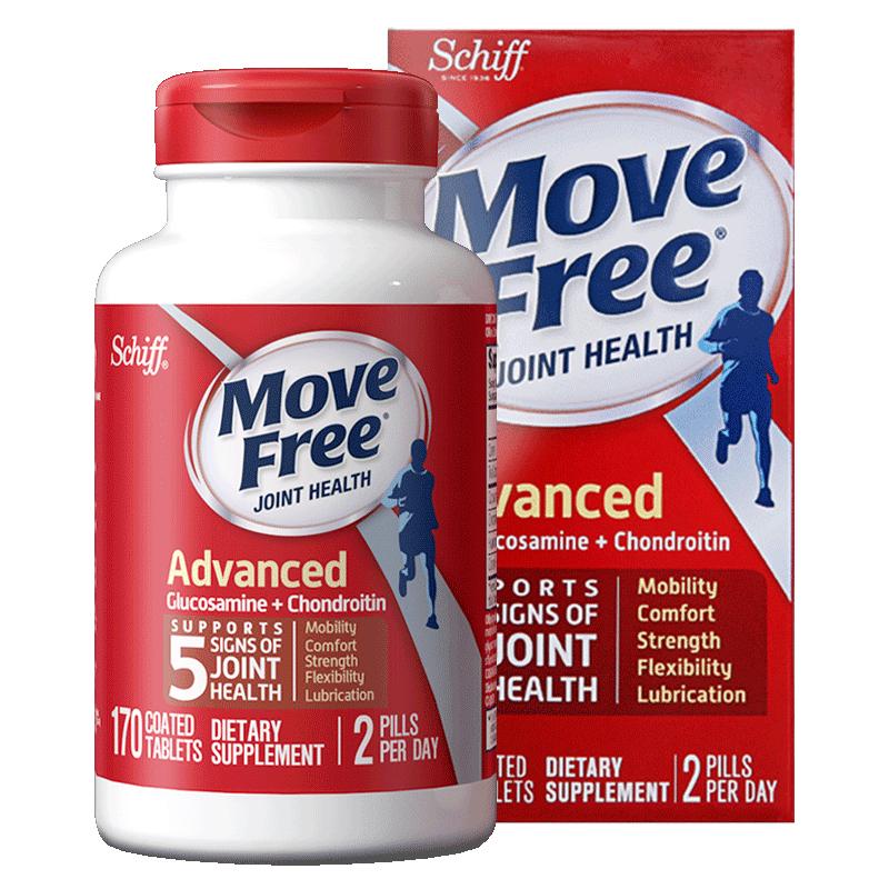 movefree氨糖软骨素红瓶80粒