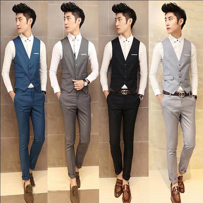 Usd 107 24 Groom Suit Vest Three Piece Suit Men Suit Best Man