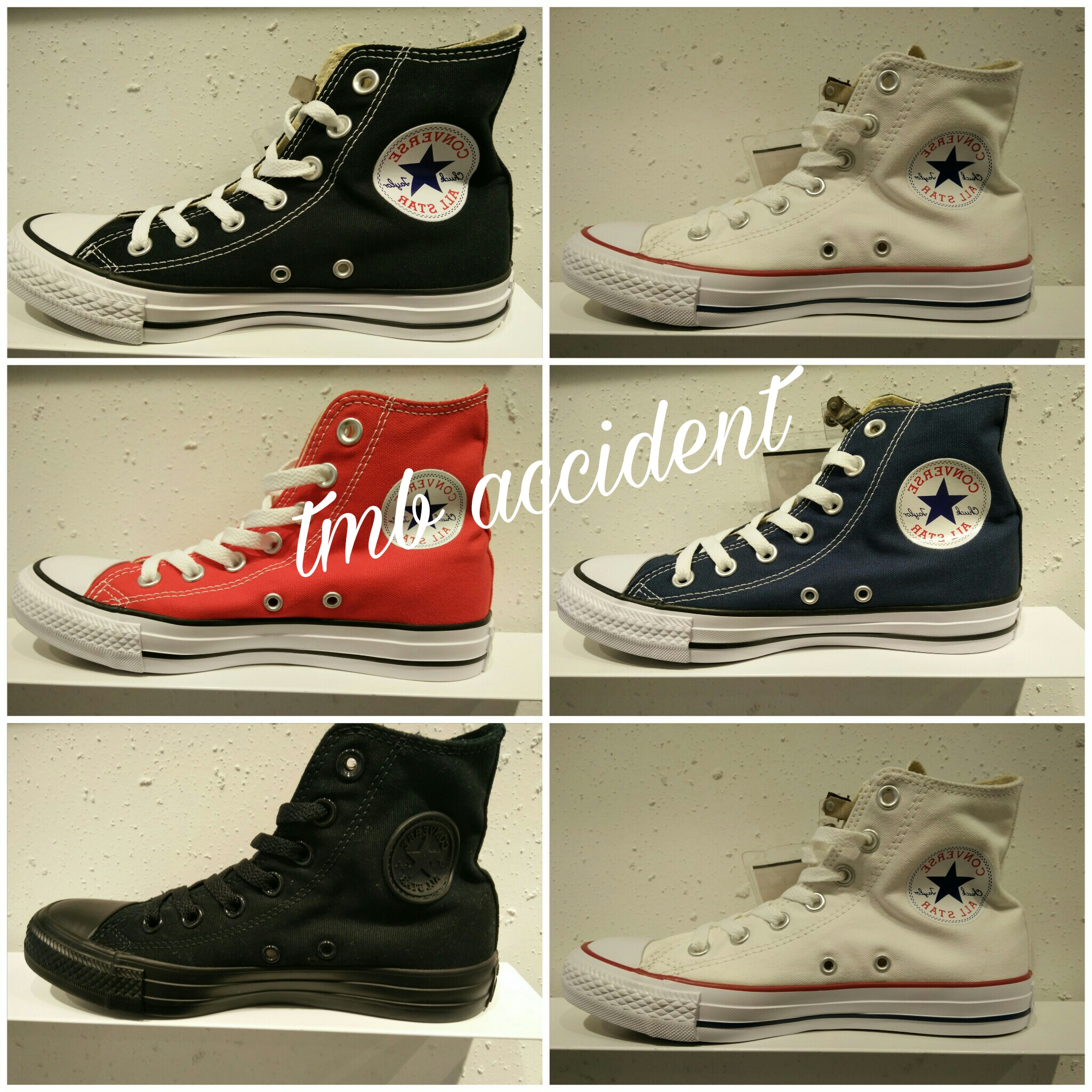 8b78744ea2cc CONVERSE Converse Classic Evergreen Black White High Men s Shoes ...