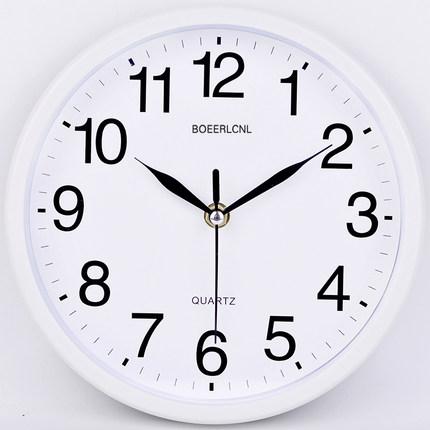 【铂晨】静音挂钟 客厅个性钟现代简约钟券后9.8元起包邮