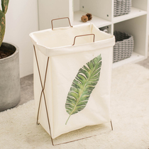 Large capacity dirty clothes storage basket dirty clothes basket Nordic Wind