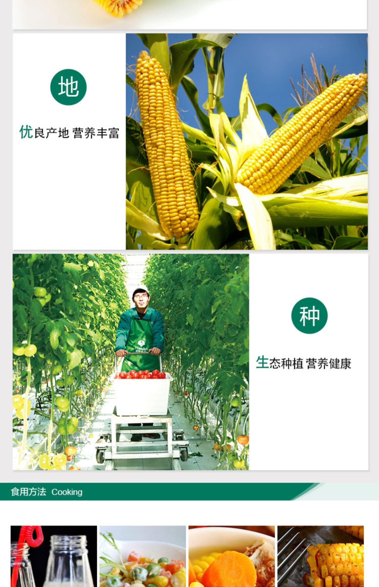 【小汤山】甜玉米 700g 新鲜蔬菜安全可追溯 年货礼盒定制商品详情图