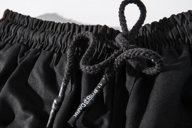 Bí mật Ninja overalls quần 11bybbs đa túi quần paratrooper quần short có thể tháo rời harem quần chùm quần nam