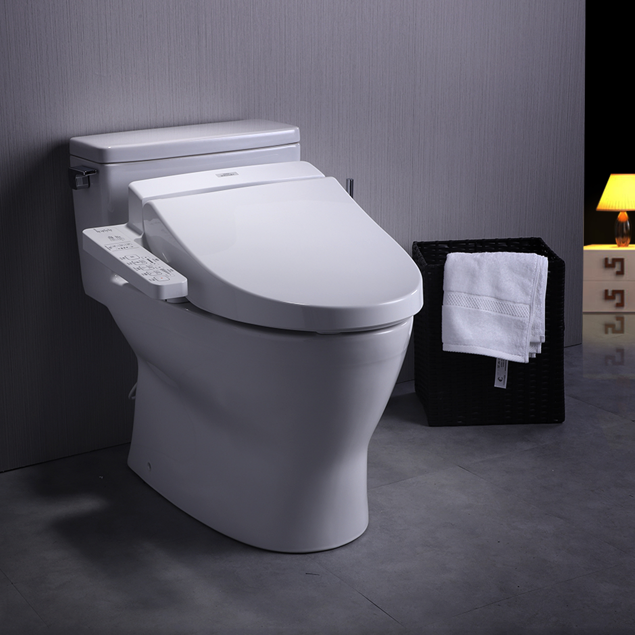USD 2561.63] TOTO intelligent Toilet one electronic Toilet Chi clean ...