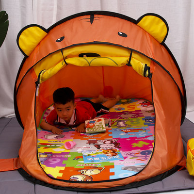 Children's tent toy play house indoor household princess boys and girls baby play house folding small house ball pool