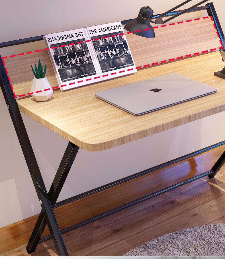 本元摺迭书桌简易电脑桌家用小桌子学生办公学习桌租房简约书桌详细照片